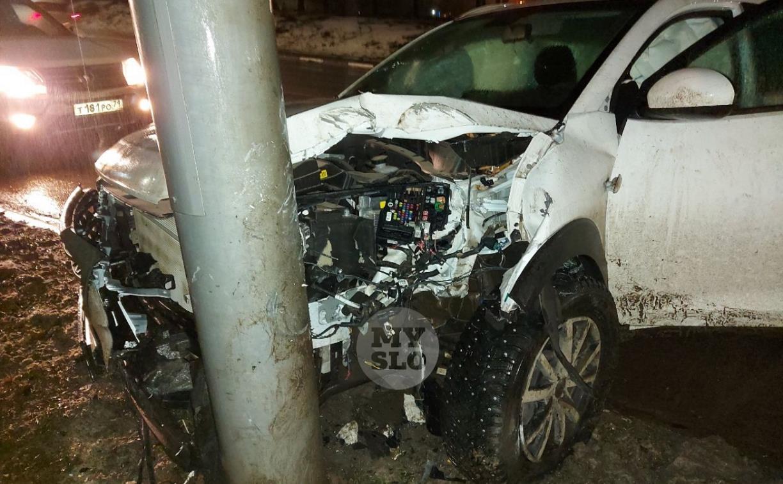 «Еду-еду, и вдруг куст!»: тулячка разбила машину из-за «невидимых» бордюров