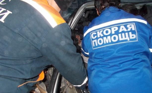 В Щёкинском районе два человека пострадали в столкновении двух легковушек и «Газели»