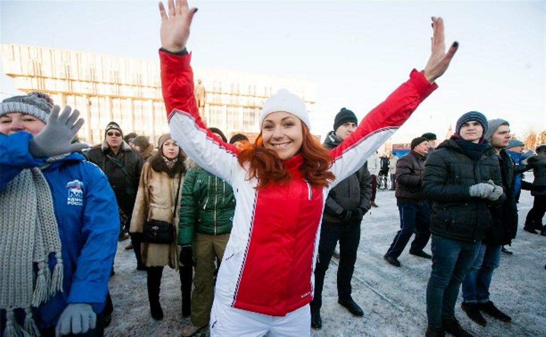 Тульские депутаты провели с горожанами «Физкультминутку»