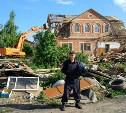 Демонтаж цыганских самостроев в тульских поселках: Жителям давали возможность самим разобрать дома