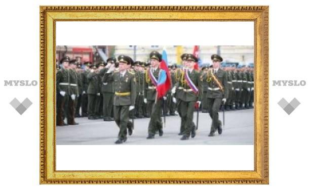 Тула готовится к параду Победы