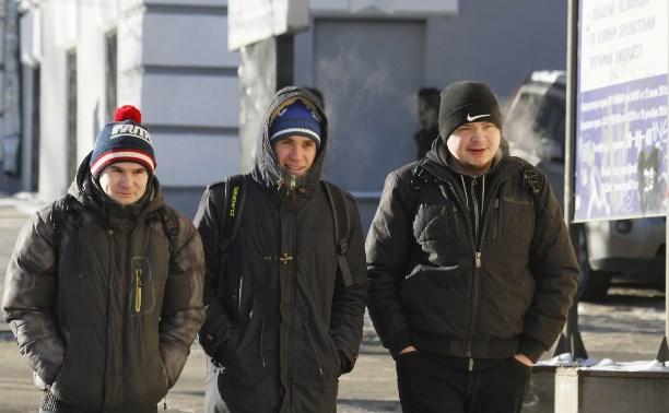 Ночью 9 и 10 февраля в Тульской области резко похолодает
