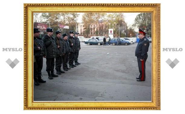 Тульских милиционеров отправили на Кавказ