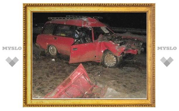 В ДТП под Тулой погиб человек