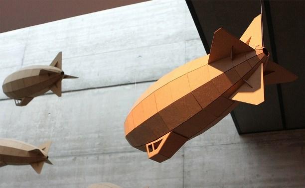 Туляков научат делать картонный дирижабль