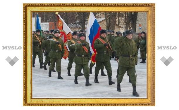Тульские десантники пошли в школу
