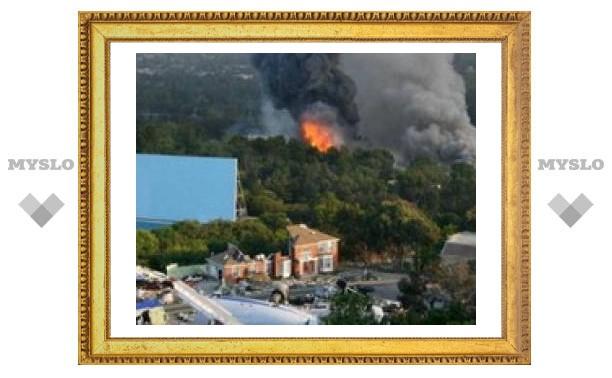 В Лос-Анджелесе сгорела киностудия Universal