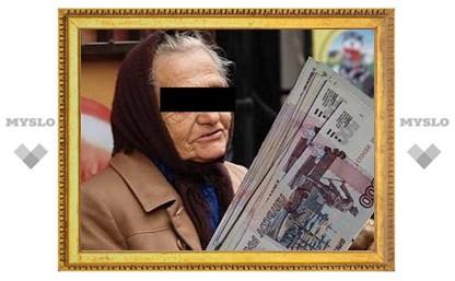 В Туле старушка обокрала рыночного торговца