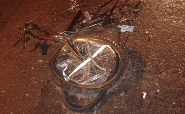 Под Тулой сбиты два велосипедиста