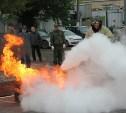 В Туле прошел первый этап Первенства области по пожарно-прикладному спорту