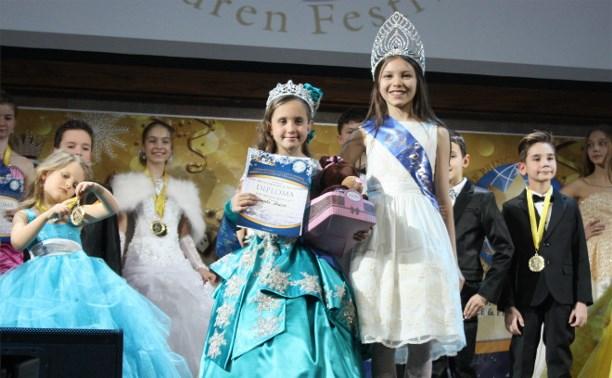 Юные тулячки победили на международном фестивале красоты