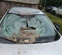 Тульская полиция об упавших на машины плитах: на крыше посторонних не было