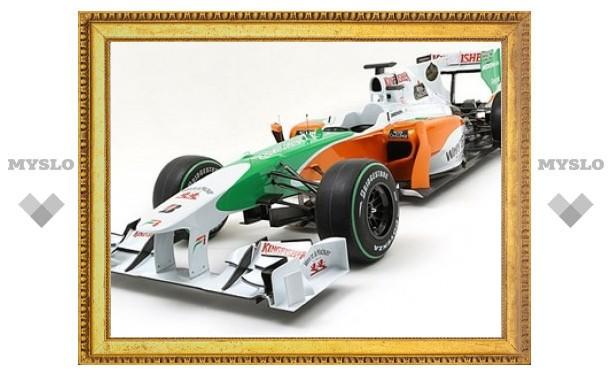 """Force India представила новый болид """"Формулы-1"""""""
