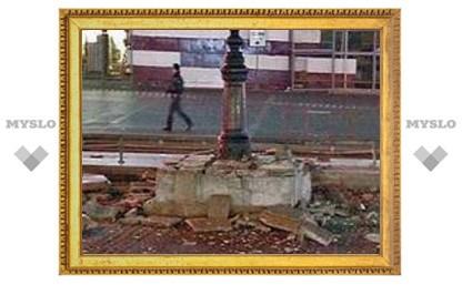 На Манежной площади взорвалась не петарда