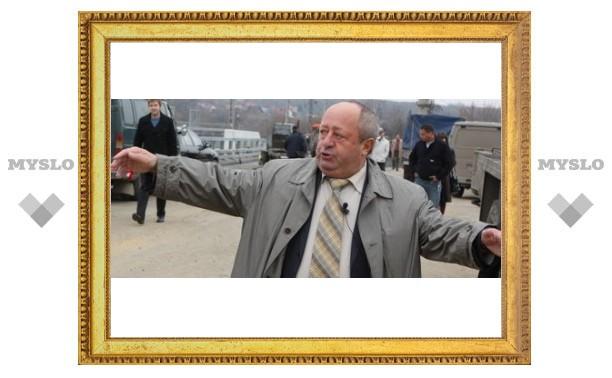 Мэр Тулы снова недоволен дорогами