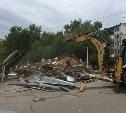 В Туле снесли торговые павильоны за неуплату аренды