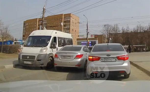 Тульская Госавтоинспекция оштрафовала двух героев рубрики «Накажи автохама»