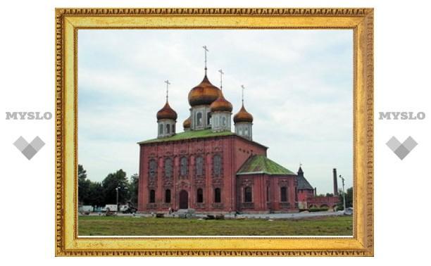 Около 44 миллионов рублей поступило на воссоздание колокольни Успенского собора