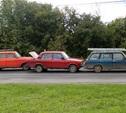 В поселке Менделеевский столкнулись три легковушки