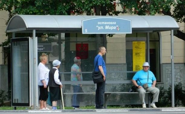 В Туле установят 34 новых остановочных павильона