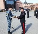 Начальник УМВД Сергей Галкин поздравил тульских кадетов