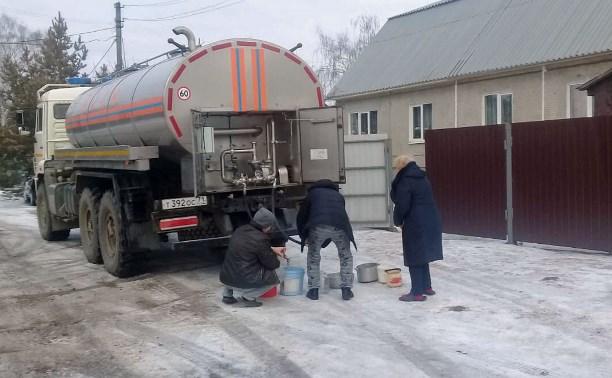 Коммунальная авария в Пролетарском округе Тулы: в Новомедвенском снова отключили воду