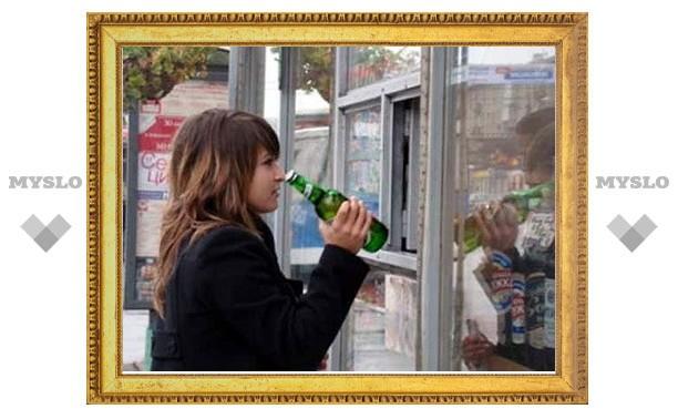 В Туле продолжают продавать алкоголь подросткам
