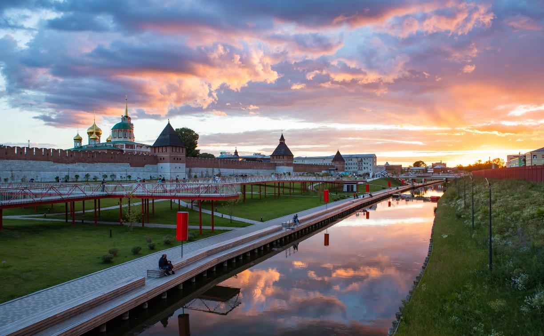 Тулякам разрешили гулять по Казанской набережной