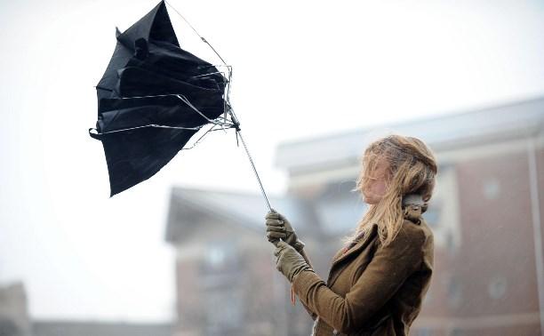 На выходных в Туле прогнозируется сильный шквалистый ветер