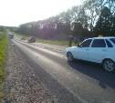 В Тульской области «семерка» на трассе перевернулась в кювет