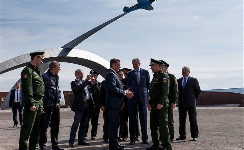 Мемориал «Защитникам неба Отечества», который посетил Сергей Шойгу, должен войти в федеральную программу