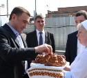 В Плавском районе Алексей Дюмин осмотрел хлебозавод «Авангард»