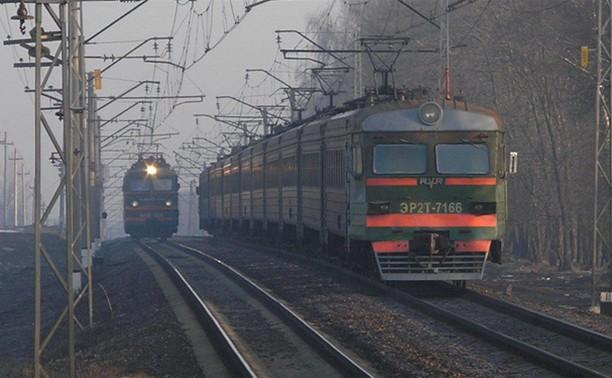 В Тульской области изменен график движения пригородных поездов