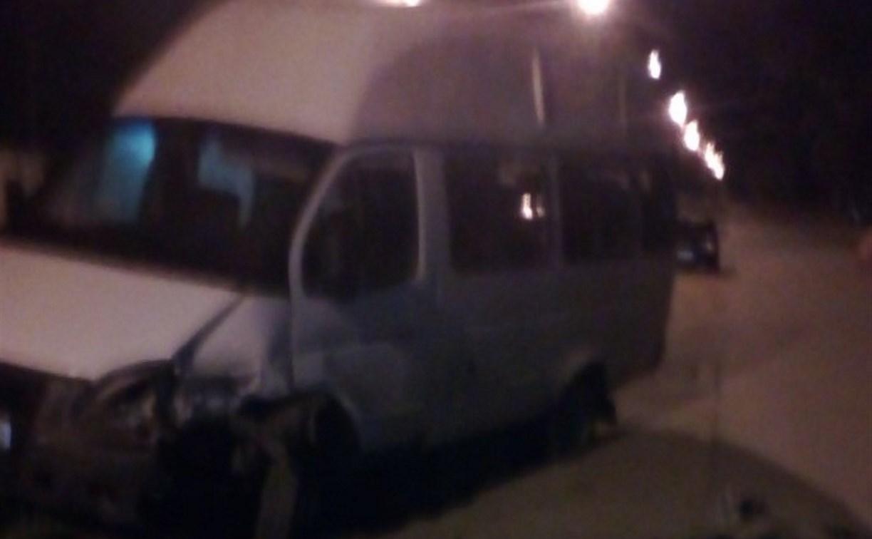 В Алексине ночью произошло двойное ДТП с участием маршрутки