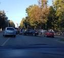 На улице Кирова в Туле столкнулись Hyundai и Chevrolet