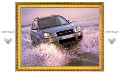 В России прекращены продажи кроссовера Hyundai Tucson