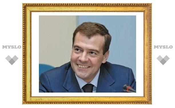 Президент России наградил туляков