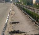 Специалисты ремонтируют мост через улицу Рязанскую в Туле