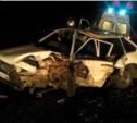 Ночью в районе Петелино столкнулись три автомобиля