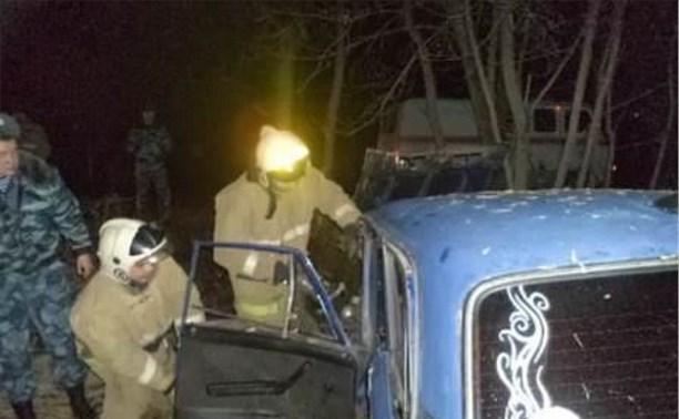 В Алексине злостный нарушитель ПДД чуть не убил себя и пассажира
