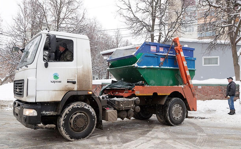 За месяц тульские регоператоры вывезли около 300 тысяч кубометров мусора