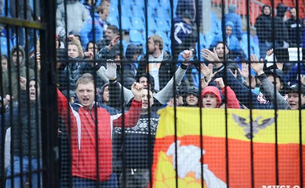 Фанаты устроили погром на матче «Арсенал» – «Факел»