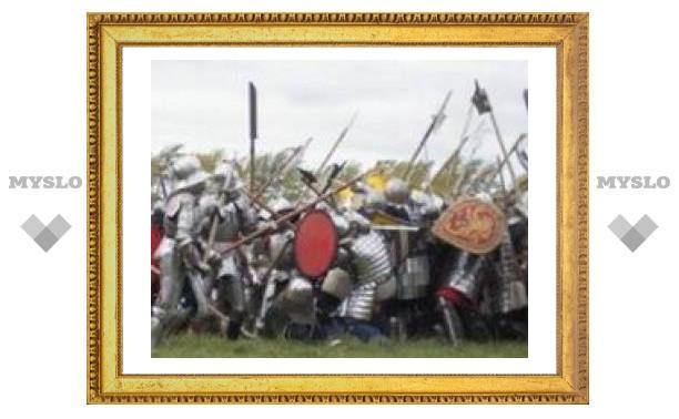 На Куликовом поле проходят средневековые гулянья