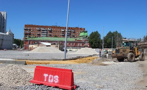 Платная парковка в историческом центре Тулы и благоустройство улиц: итоги выездного совещания