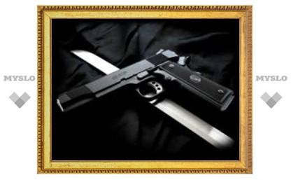 В Туле у работника оборонного предприятия изъяли оружие