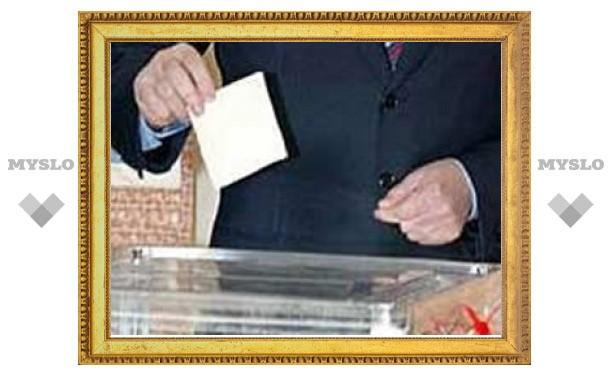 Явка избирателей в Тульской области превысила 50%