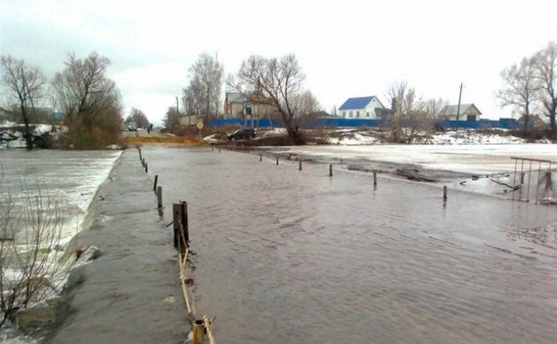 МЧС Тульской области не исключает вероятности затопления низководных мостов