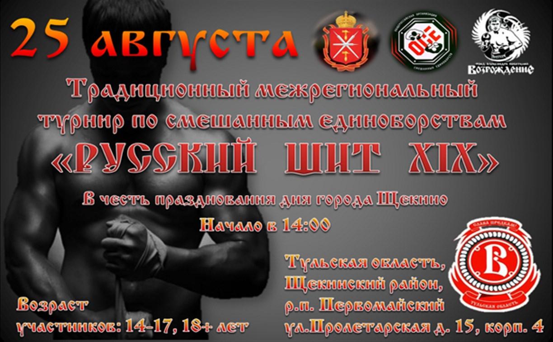 В Щекино пройдет турнир по смешанным единоборствам