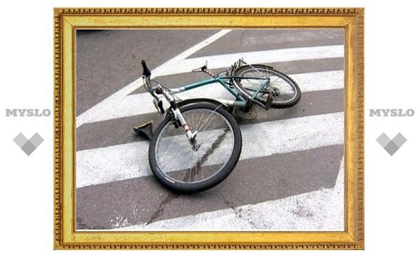 В Суворове Тульской области сбили пожилого велосипедиста