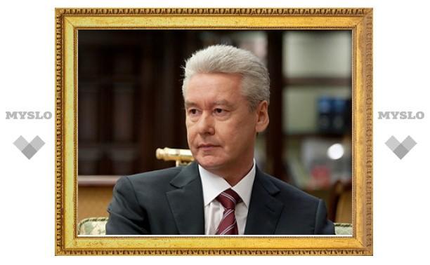 """Собянин назвал пункты техосмотра """"кормушкой для взяточников"""""""